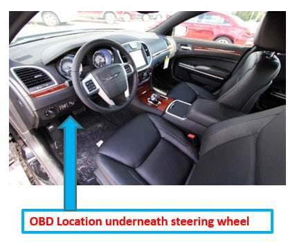 guide-obd-location-under-steering-wheel